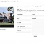KRJDA Website: Contact Page