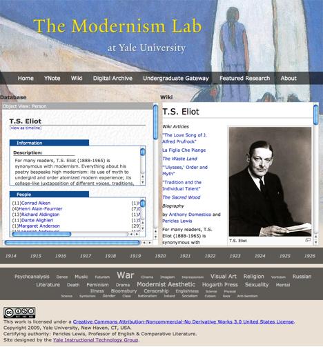 yNote: Modernism Lab