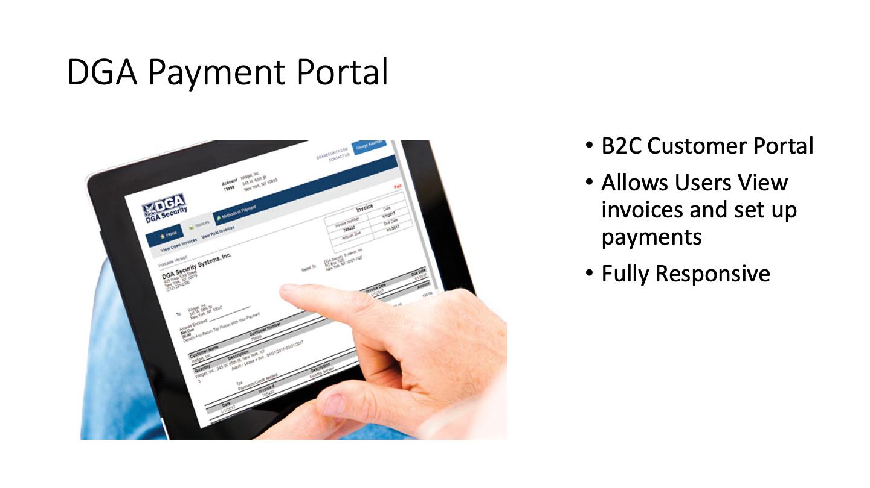 DGA Payment Portal