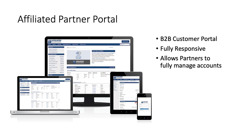 Affiliated Partner Portal