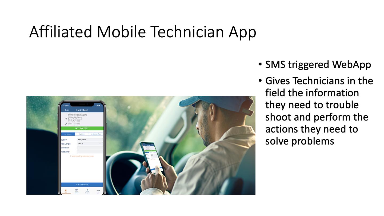 Affiliated Mobile Technician App