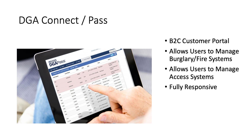 DGA Connect / Pass